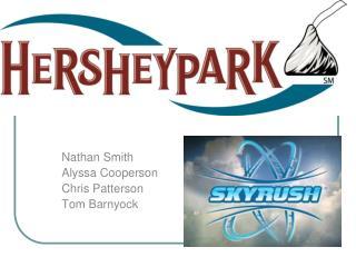 Nathan Smith Alyssa Cooperson Chris Patterson Tom Barnyock