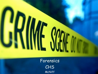 Survey of Forensic Toxicology