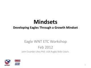 Mindsets Developing Eagles Through a Growth Mindset