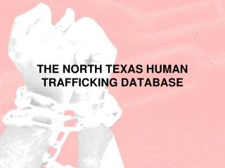 THE NORTH TEXAS HUMAN TRAFFICKING DATABASE