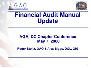 Financial Audit Manual Update