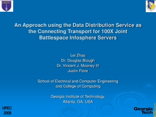 Joint Battlespace Infosphere