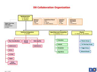 D0 Collaboration Organization