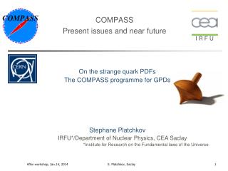 COMPASS Present issues and near future