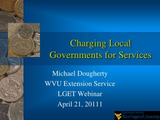 Charging Local Governments for Services
