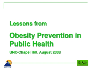 Stopping Childhood Obesity: Building the Evidence for Community Interventions