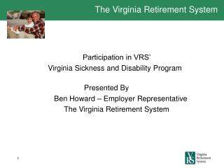 The Virginia Retirement System