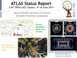 ATLAS Status Report 118 th  OPEN LHCC Session, 4 th  of  June  2014