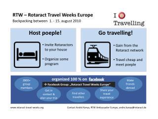 RTW –  Rotaract  Travel  Weeks  Europe