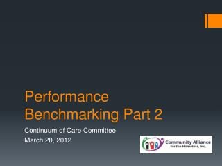 Performance Benchmarking Part 2