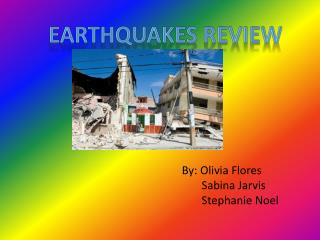 EARTHQUAKES REVIEW