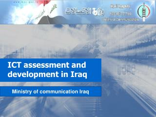ICT assessment and development in Iraq