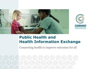 Public Health and  Health Information Exchange