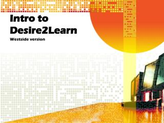 Intro to Desire2Learn