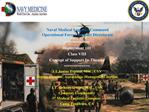 Naval Medical Logistics Command Operational Forces Support Directorate