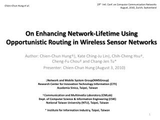 On Enhancing Network-Lifetime Using Opportunistic Routing in Wireless Sensor Networks