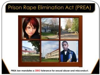 Prison Rape Elimination Act (PREA)