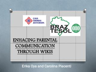 ENHACING PARENTAL COMMUNICATION THROUGH WIKIS