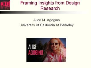 Framing Insights from Design Research