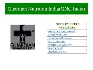 GNC India Protein