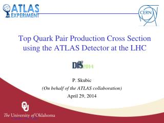 Top  Quark Pair Production Cross Section using the ATLAS Detector at the LHC