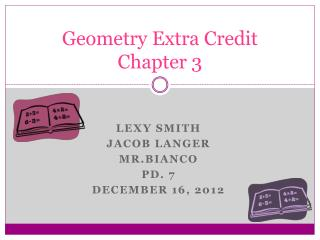 Geometry Extra Credit Chapter 3