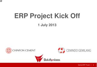 ERP Project Kick Off