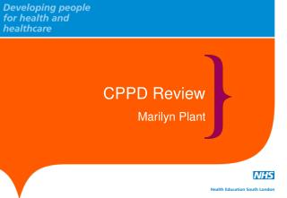 CPPD Review Marilyn Plant