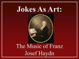 Jokes As Art: