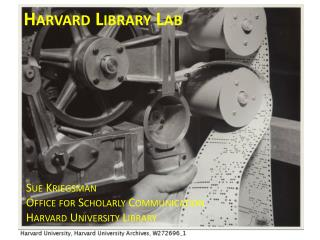 Harvard Library Lab