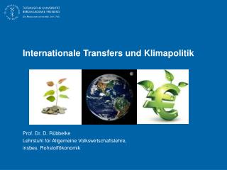Internationale Transfers und Klimapolitik