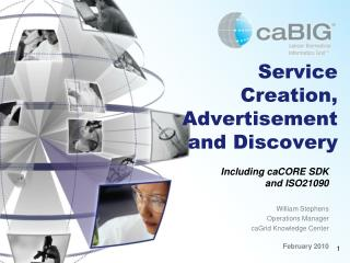 Service Creation, Advertisement and Discovery
