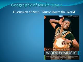 Geography of Music: Day 2