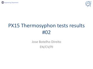 PX15 Thermosyphon tests results #02