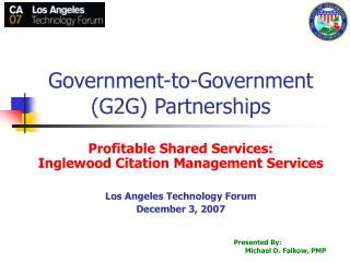 Government-to-Government (G2G) Partnerships