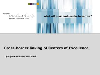Cross-border linking of Centers of Excellence