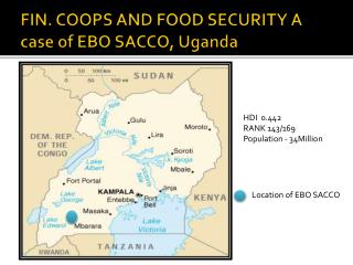 FIN. COOPS AND FOOD SECURITY A case of EBO SACCO, Uganda
