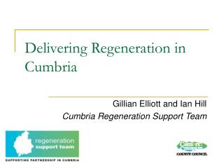 Delivering Regeneration in Cumbria