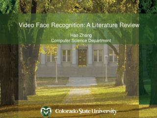 Video Face Recognition: A Literature Review