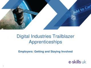 Digital Industries Trailblazer Apprenticeships