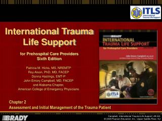 Chapter 2 Assessment and Initial Management of the Trauma Patient