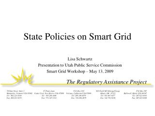 State Policies on Smart Grid