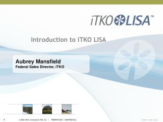 Introduction to iTKO LISA