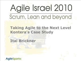 Taking Agile to the Next Level