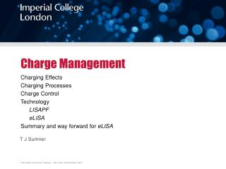 Charge Management