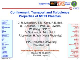 Confinement, Transport and Turbulence Properties of NSTX Plasmas