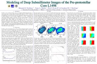 Modeling of Deep Submillimeter Images of the Pre-protostellar