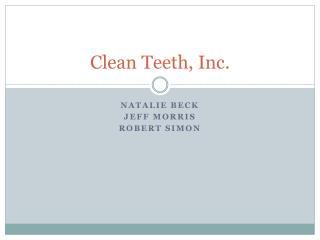 Clean Teeth, Inc.