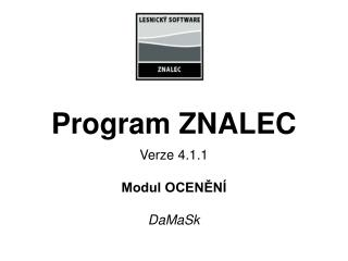Program ZNALEC