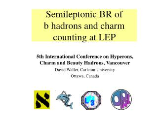 Semileptonic BR of  b hadrons  and charm counting at LEP
